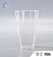 Wholesale FDA Houseware Homeware Large Disposable Plastic Drinking Tea Cups