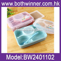 plastic food container , TR038, plastic section lunch box