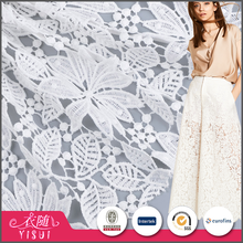 Good price different design water soluble luxury bulk flower lace fabric