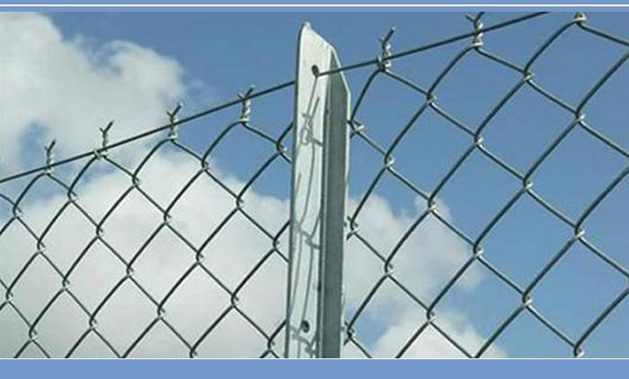 Latest Style High Quality 6 foot black chain link fence