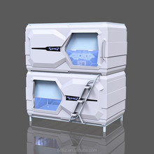 M-811Horizontal Curtain type Capsule Hotel Bed Pod Bunk Beds Sleeping Pods