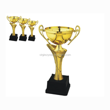 Whoesale nice design Flower bowl trophy cup with 3 sizes