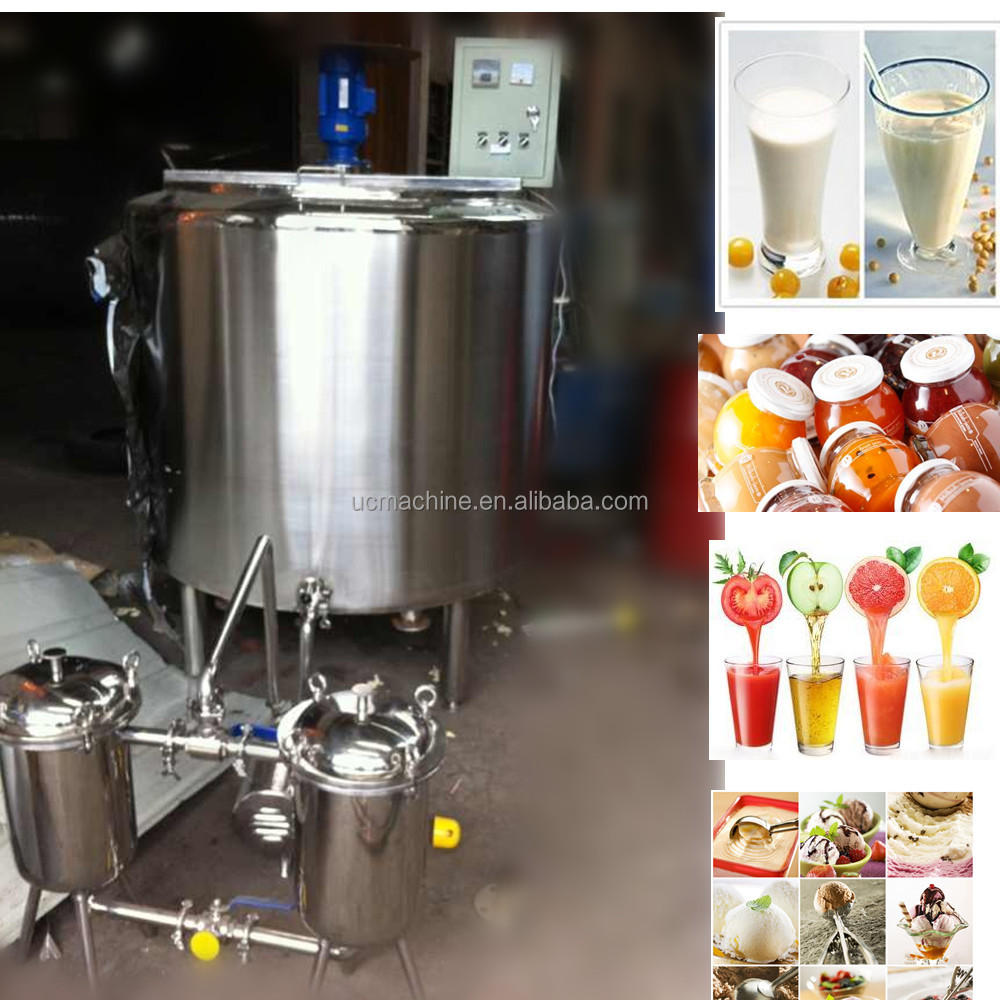 200L milk pasteurizer small pasteurizer for milk and beverage