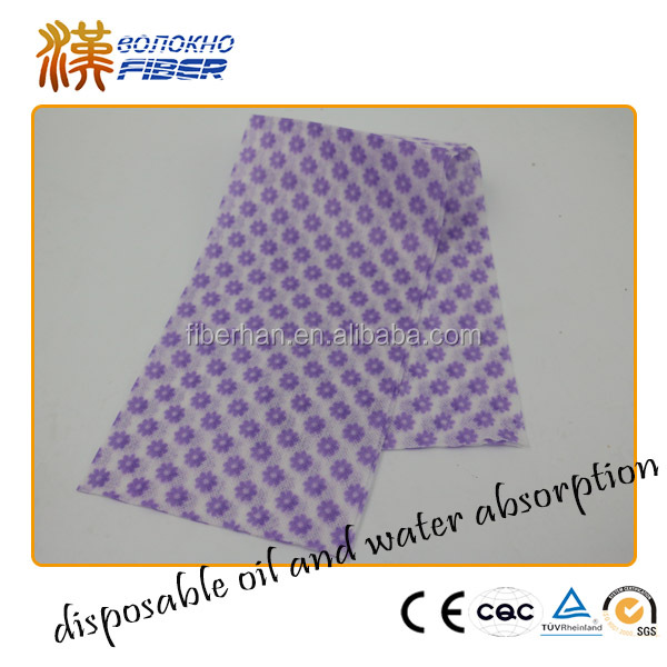Bamboo Pulp Fiber Car cleaning cloth, Cleaning use Disposable wipe