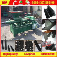 Best Triangle charcoal briquette making machine for shisha hookah smoking