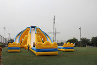 Top Quality Giant Inflatable Slide For Sale Outdoor Sports And Games Play Grade Amusement Equipment Inflatable Slide for Land
