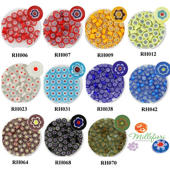 2016 Microwave kiln accessories Millefiori glass COE90 glass sheet