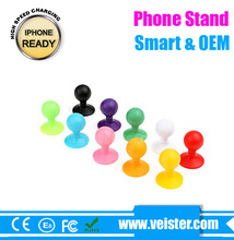 Funny cell phone holder for desk silicone phone stand Universal