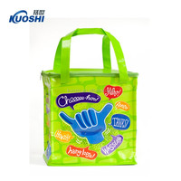 Promotional tote cooler lunch bags with logo