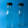 square shape plastic bottle