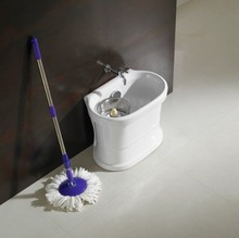 new style toilet sanitaryware 360 magic ceramic spin mop