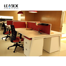 2017 Hot Sale New Design Melamine Wooden Office Table Price