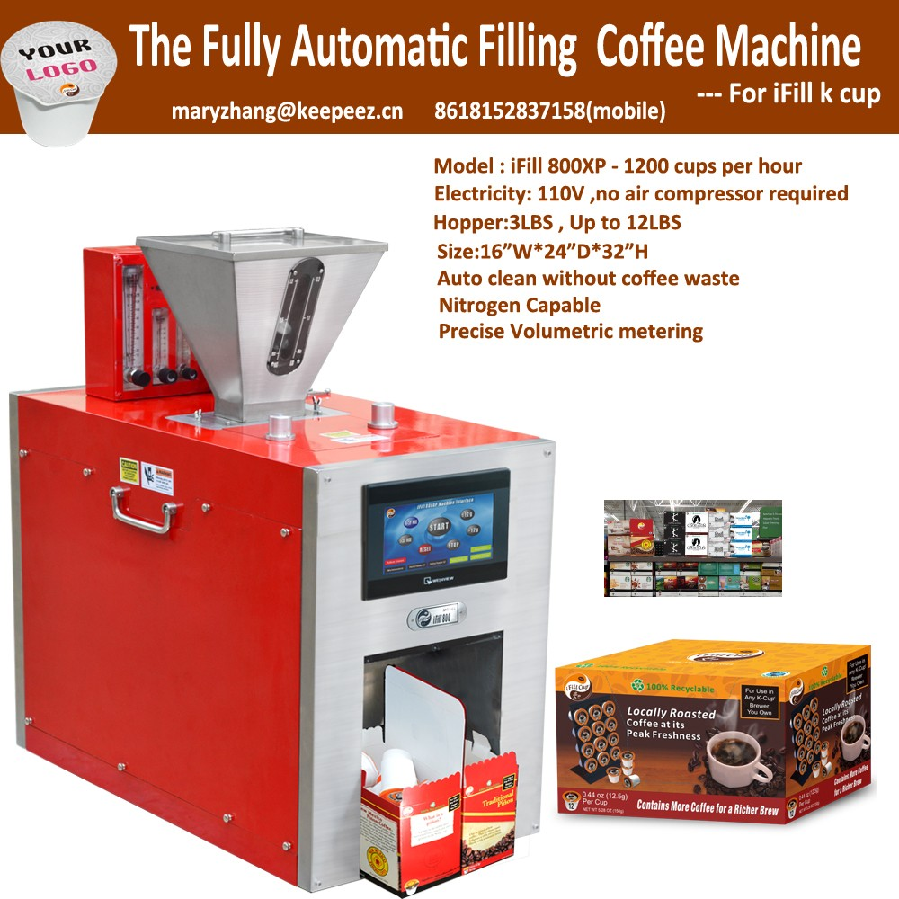 2017 New Innovative K Cup Coffee Filling Sealing Machine