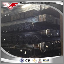 Black furniture steel pipe factory