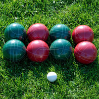 Resin Bocce Set With Carry Bag