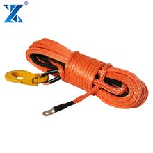 12 strand synthetic 4x4 ATV winch ropes for off-road car