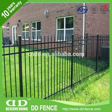 New design Black aluminum Gate manufacture