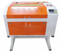 small compact sealed co2 laser tube 60w 80w 4060 laser cutting machine for paper wood acrylic fabric stone