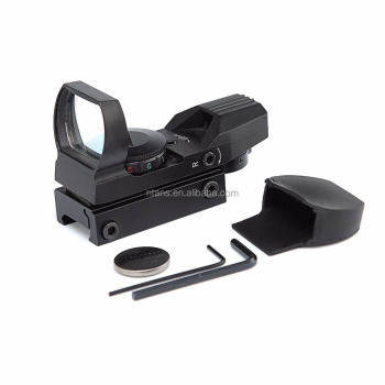 SPIKE Red and Green Dot 4 Reticle Reflex RifleScope Sight