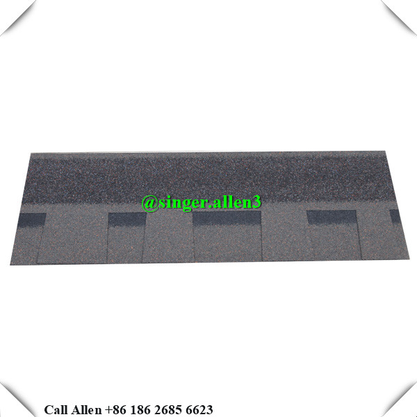 house roof laminated shingles materials / figerglass mat blue roofing tile price