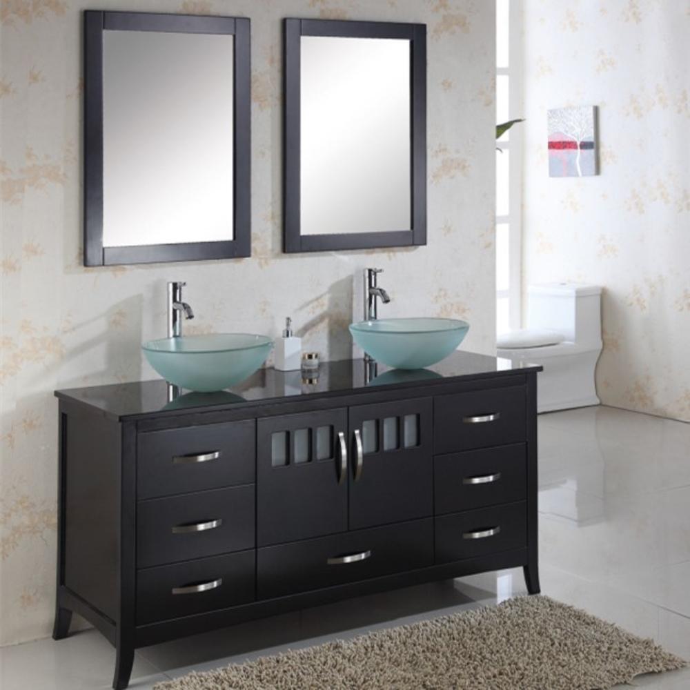 New Design Free Standing Oak Wood Bathroom Furniture Buy Free Standing Oak Wood Bathroom