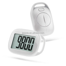 Simple Step Counter Walking 3D Pedometer with Lanyard