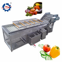 Vegetable and fruit brush washing and cleaning machine/potato brush roller cleaning machine/ 0086-15838059105