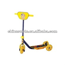 Iron Body 3 Wheels Plastic Baby Kick Scooter With Cover