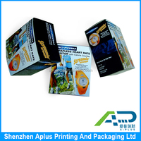 High quality matt laminated paper corrugated packaging carton boxes