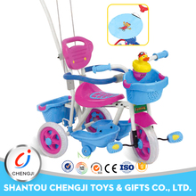 Hot sale cheap children plastic ride on car baby tricycle new models