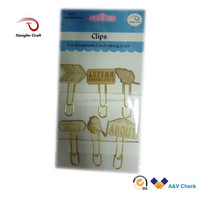 decorative metal clips wooden clip types of paper clips