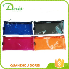 Lower price simple zipper PVC pouch