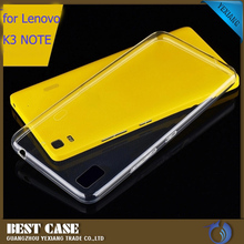 for lenovo k3 note back cover, high quality cellphone cover clear tpu case cover