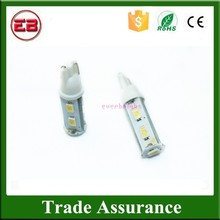 Good Quality Cheap T10 5630 194 168 9SMD Pure White led Signal Lamps 2 Modes Steady and Strobe Car Strobe Light