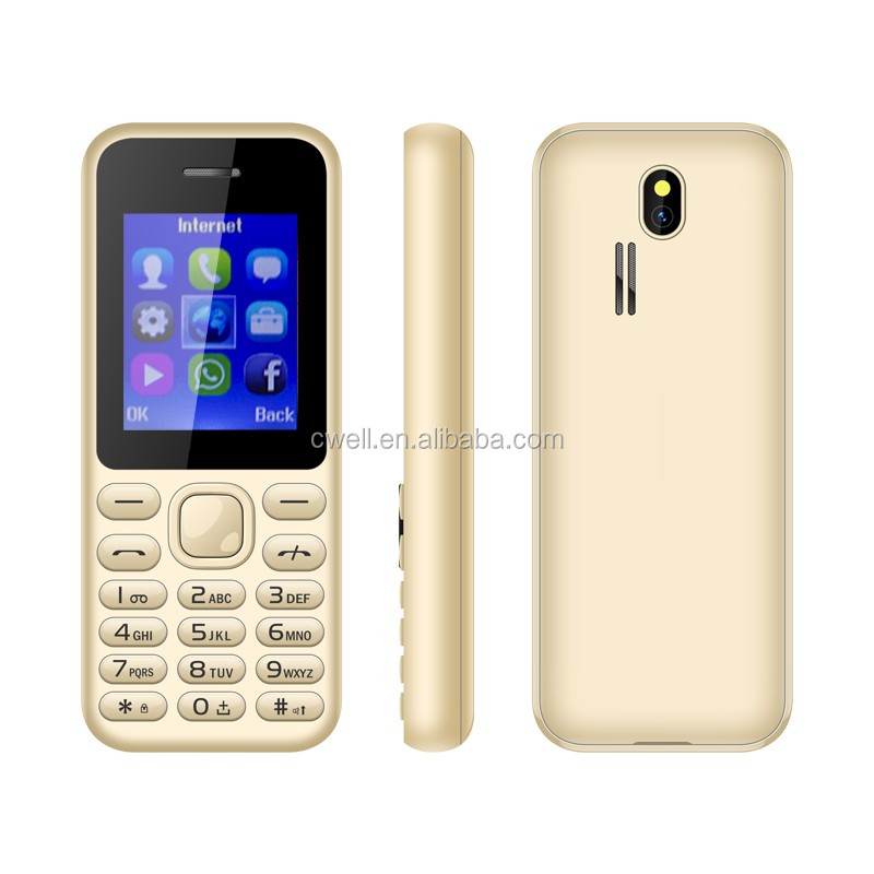 1.8 Inch Low Price GSM Mobile Phone Dual Sim Card FM Radio Bluetooth 600mAh Battery Unlocked ECON N222