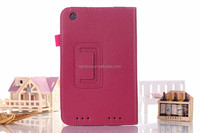 Colorful leather case with card slot flip case for Lenovo A3000