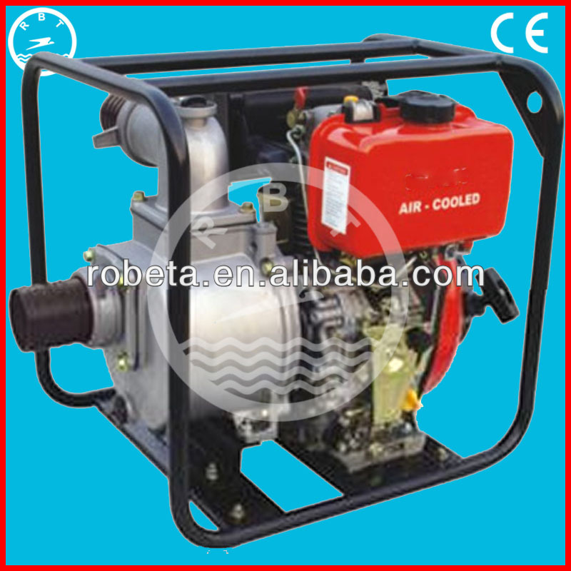 Portable 4-stroke air cooler italian water pumps