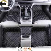 PVC leather car mat 5d