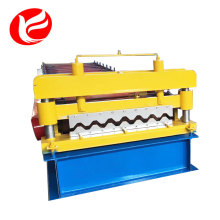Roof panel metal corrugated wall tiles manufacturing roll forming machine