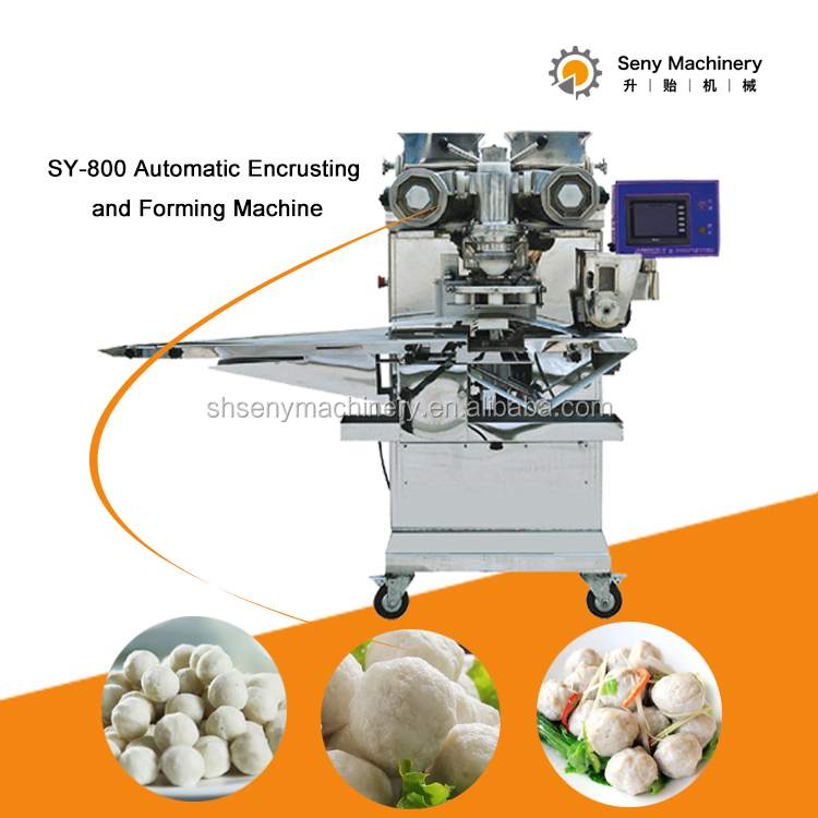 China hot-sale fish ball forming encrusting machine
