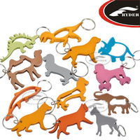 Custom Promotional Aluminum Bottle Opener Key Chain
