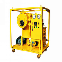 portable centrifugal lube oil purifier filter machine