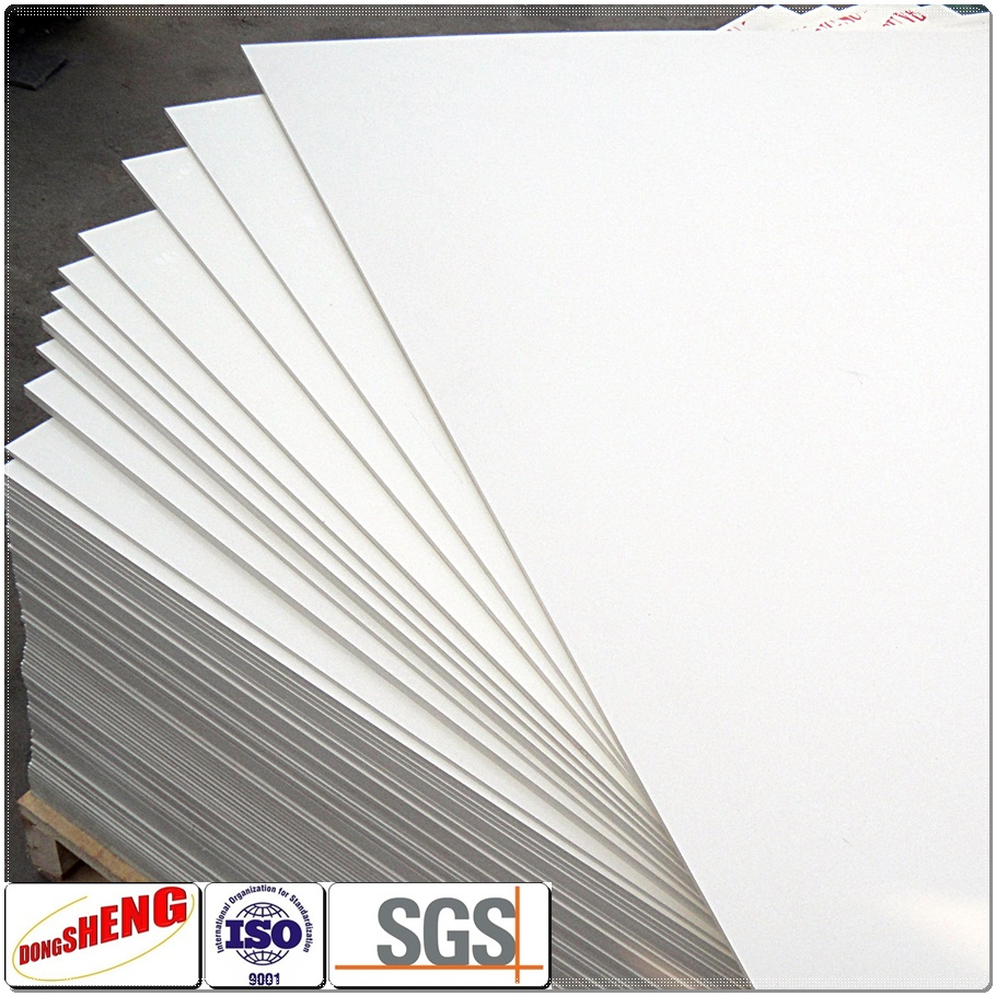 Food grade rigid plastic cladding sheet