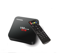 Shenzhen factory price android tv box 2gb ram 8gb rom quad core RK3229 4K android 5.1 tv box with High Definition
