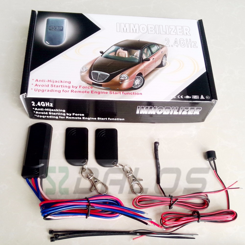 car RFID immobilizer& 2.4ghz immobilizer system for car and motorcycle