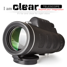 Monocular telescope High - definition telephoto zoom camera lens for mobile phone