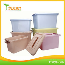 Hot Strong Plastic Storage Box With Lid