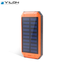 Certified quality 8000mah portable solar charger cell phone