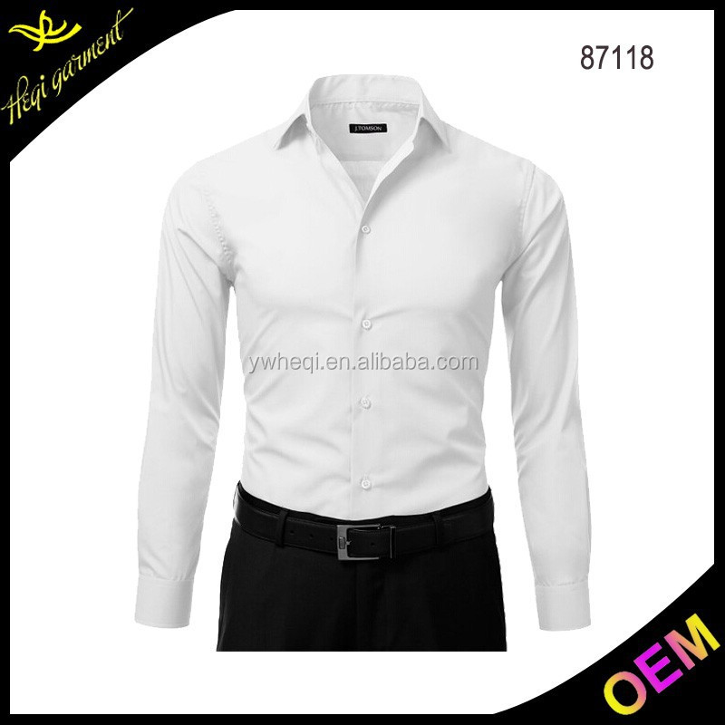 100% egyptian cotton shirts men khadi shirts