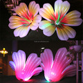 Big inflatable artificial flower for hanging decoration